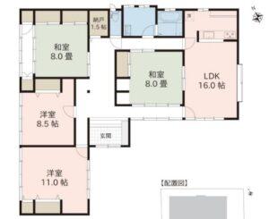 建物 C-27 南箕輪村(春日道東)売中古住宅